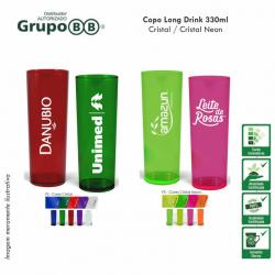 COPO LONG DRINK CRISTAL 330ml Personalizado